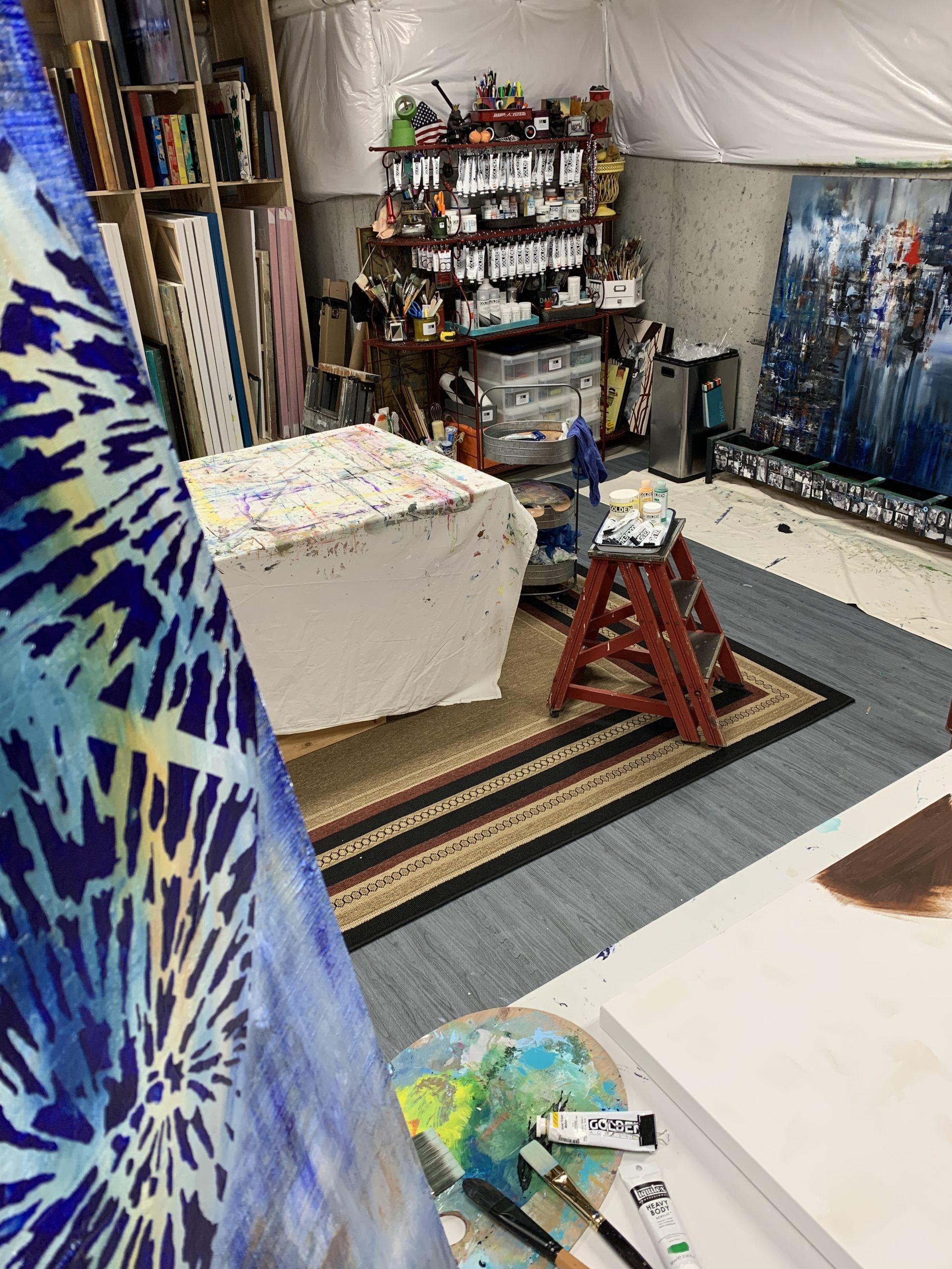 Sherry Rinderer's Art Studio